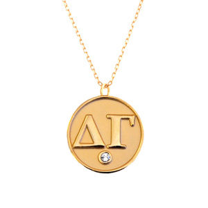 Delta Gamma Necklace - Gold